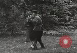 Image of United States and Russian officers Protivin Czechoslovakia, 1945, second 54 stock footage video 65675060046