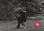 Image of United States and Russian officers Protivin Czechoslovakia, 1945, second 55 stock footage video 65675060046