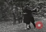 Image of United States and Russian officers Protivin Czechoslovakia, 1945, second 57 stock footage video 65675060046