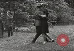 Image of United States and Russian officers Protivin Czechoslovakia, 1945, second 59 stock footage video 65675060046