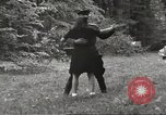 Image of United States and Russian officers Protivin Czechoslovakia, 1945, second 60 stock footage video 65675060046