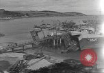 Image of U.S. Army Vehicles being loaded on LSTs before D-Day Falmouth England United Kingdom, 1944, second 2 stock footage video 65675060406