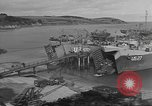 Image of U.S. Army Vehicles being loaded on LSTs before D-Day Falmouth England United Kingdom, 1944, second 4 stock footage video 65675060406