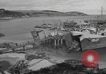 Image of U.S. Army Vehicles being loaded on LSTs before D-Day Falmouth England United Kingdom, 1944, second 21 stock footage video 65675060406