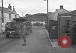 Image of U.S. Army Vehicles being loaded on LSTs before D-Day Falmouth England United Kingdom, 1944, second 54 stock footage video 65675060406