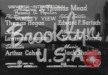 Image of City scenes including bridges, buildings, streets and traffic Brooklyn New York USA, 1947, second 10 stock footage video 65675060412