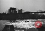 Image of City scenes including bridges, buildings, streets and traffic Brooklyn New York USA, 1947, second 24 stock footage video 65675060412