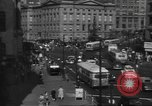 Image of City scenes including bridges, buildings, streets and traffic Brooklyn New York USA, 1947, second 31 stock footage video 65675060412