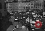 Image of City scenes including bridges, buildings, streets and traffic Brooklyn New York USA, 1947, second 32 stock footage video 65675060412