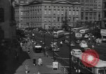Image of City scenes including bridges, buildings, streets and traffic Brooklyn New York USA, 1947, second 34 stock footage video 65675060412