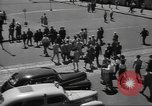 Image of City scenes including bridges, buildings, streets and traffic Brooklyn New York USA, 1947, second 54 stock footage video 65675060412