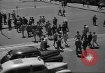 Image of City scenes including bridges, buildings, streets and traffic Brooklyn New York USA, 1947, second 57 stock footage video 65675060412
