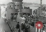 Image of United States troops Plymouth England United Kingdom, 1944, second 1 stock footage video 65675060444
