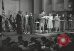 Image of golden slippers Hollywood Los Angeles California USA, 1943, second 2 stock footage video 65675060594