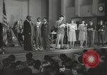 Image of golden slippers Hollywood Los Angeles California USA, 1943, second 4 stock footage video 65675060594