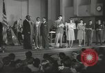 Image of golden slippers Hollywood Los Angeles California USA, 1943, second 5 stock footage video 65675060594