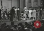 Image of golden slippers Hollywood Los Angeles California USA, 1943, second 8 stock footage video 65675060594