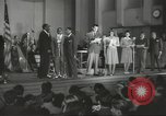Image of golden slippers Hollywood Los Angeles California USA, 1943, second 12 stock footage video 65675060594