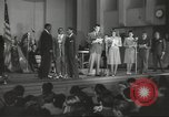 Image of golden slippers Hollywood Los Angeles California USA, 1943, second 14 stock footage video 65675060594