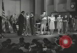 Image of golden slippers Hollywood Los Angeles California USA, 1943, second 15 stock footage video 65675060594
