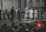 Image of golden slippers Hollywood Los Angeles California USA, 1943, second 17 stock footage video 65675060594
