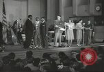 Image of golden slippers Hollywood Los Angeles California USA, 1943, second 20 stock footage video 65675060594