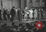 Image of golden slippers Hollywood Los Angeles California USA, 1943, second 22 stock footage video 65675060594