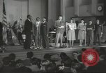 Image of golden slippers Hollywood Los Angeles California USA, 1943, second 24 stock footage video 65675060594