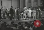 Image of golden slippers Hollywood Los Angeles California USA, 1943, second 25 stock footage video 65675060594