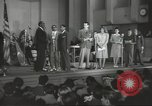 Image of golden slippers Hollywood Los Angeles California USA, 1943, second 27 stock footage video 65675060594