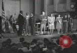 Image of golden slippers Hollywood Los Angeles California USA, 1943, second 29 stock footage video 65675060594