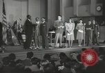 Image of golden slippers Hollywood Los Angeles California USA, 1943, second 30 stock footage video 65675060594