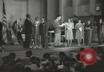 Image of golden slippers Hollywood Los Angeles California USA, 1943, second 33 stock footage video 65675060594