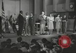 Image of golden slippers Hollywood Los Angeles California USA, 1943, second 35 stock footage video 65675060594