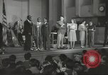 Image of golden slippers Hollywood Los Angeles California USA, 1943, second 36 stock footage video 65675060594