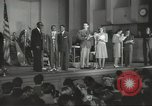 Image of golden slippers Hollywood Los Angeles California USA, 1943, second 37 stock footage video 65675060594