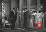 Image of golden slippers Hollywood Los Angeles California USA, 1943, second 49 stock footage video 65675060594