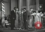 Image of golden slippers Hollywood Los Angeles California USA, 1943, second 50 stock footage video 65675060594