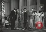 Image of golden slippers Hollywood Los Angeles California USA, 1943, second 51 stock footage video 65675060594