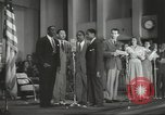 Image of golden slippers Hollywood Los Angeles California USA, 1943, second 52 stock footage video 65675060594