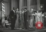 Image of golden slippers Hollywood Los Angeles California USA, 1943, second 53 stock footage video 65675060594