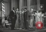 Image of golden slippers Hollywood Los Angeles California USA, 1943, second 54 stock footage video 65675060594