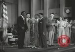 Image of golden slippers Hollywood Los Angeles California USA, 1943, second 55 stock footage video 65675060594