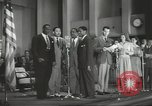 Image of golden slippers Hollywood Los Angeles California USA, 1943, second 57 stock footage video 65675060594