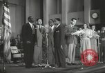 Image of golden slippers Hollywood Los Angeles California USA, 1943, second 58 stock footage video 65675060594