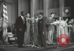 Image of golden slippers Hollywood Los Angeles California USA, 1943, second 60 stock footage video 65675060594