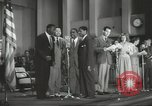 Image of golden slippers Hollywood Los Angeles California USA, 1943, second 61 stock footage video 65675060594
