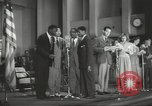 Image of golden slippers Hollywood Los Angeles California USA, 1943, second 62 stock footage video 65675060594