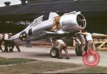 Image of U.S.Army mechanics assemble Swedish P-35A pursuit planes Philippines, 1941, second 3 stock footage video 65675060825