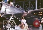 Image of U.S.Army mechanics assemble Swedish P-35A pursuit planes Philippines, 1941, second 22 stock footage video 65675060825